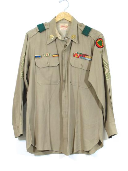 WWII US Army Khaki Shirt