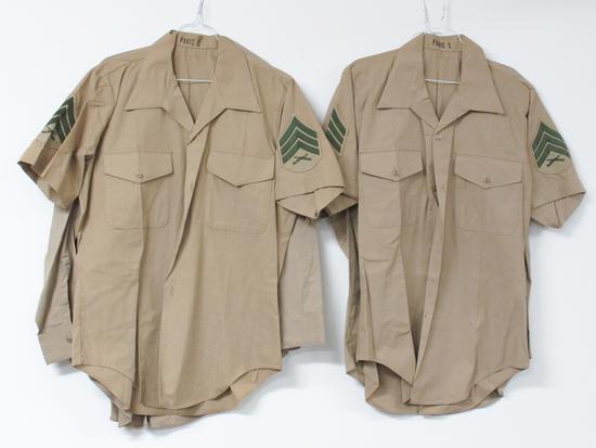 Lot of Four US Marine Corps Shirts