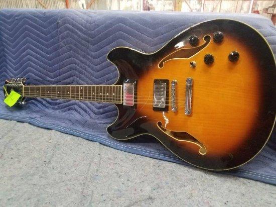 Ibanez 12 String Electric Guitar Model AS7312-VB-12-01