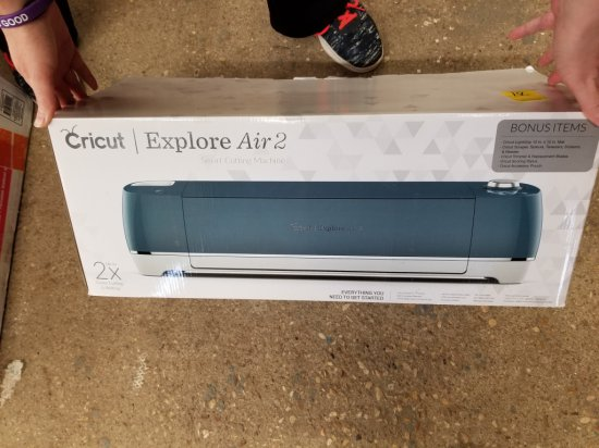 Cricut Explore Air 2 Denim Bundle