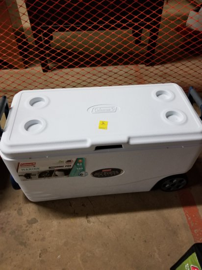 Coleman 82 Qt Offshore Pro Series Marine Wheeled Cooler