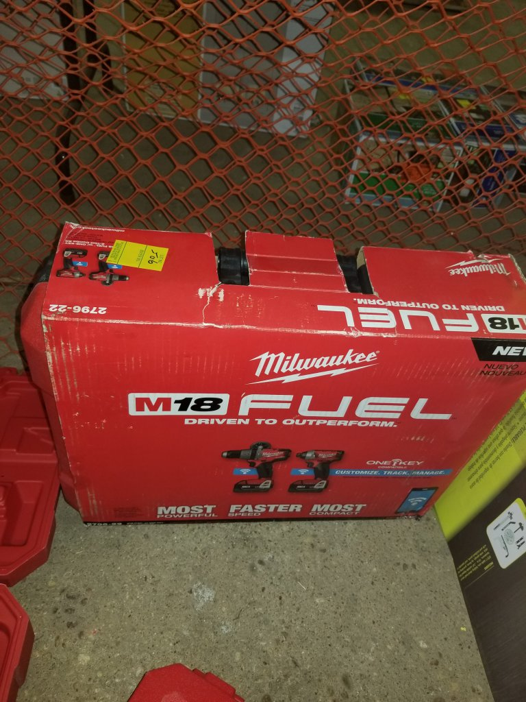 Milwaukee M18 Fuel With One Key 2 Tool Combo Kit