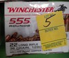 Winchester 555 Rounds 22 Long Rifle