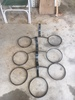 4 Wall Mount Plant Stands (metal)