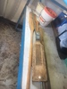Lot Of Boat Oars And Misc Fishing Items