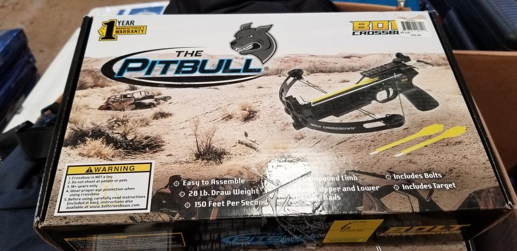 Lot: Bolt Crossbows The Pitbull | Proxibid Auctions