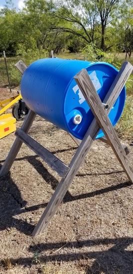 Compost Barrel 55 Gal