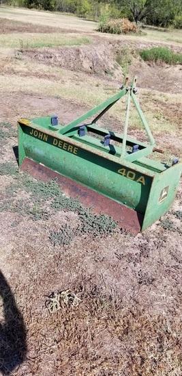 John Deere 40a Box Blade, 3pt
