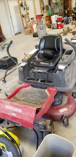 Craftsman 7000 Riding Mower Zero Turn