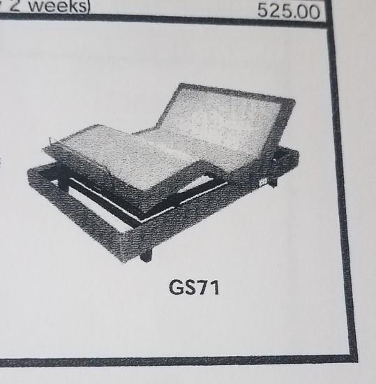 Gs7150 Adjustable Queen Frame