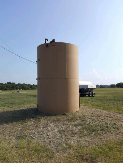 Lide Industries 4,000 Gallon Fuel Tank 8' Wide, 12' Tall It Was Bought And Never Used