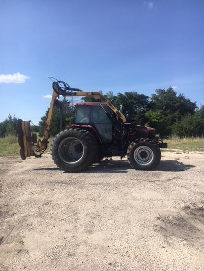 Case Maxxum Mxm 130 Cab Air Heat Tractor With Duals, 2052 Hours