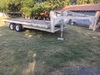 Flatbed Gooseneck 20'trailer, Great Hay Trailer And Title Not Found.