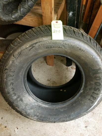 Hoosier Pro Street Radial Tire 34x16.50r16lt 96h