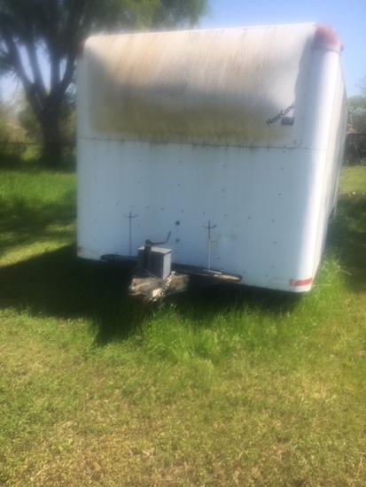 Jones Trailer Co Vin 9cb2020p092532, 8'widex16'long Tx Plate 927-22c With Good Title