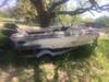 Glastron V166 Boat W 85 Hp Mercury Motor On Galvanized Trailer