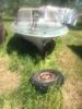 Aristo Craft Vintage Boat W/mercruiser Motor On Steel Trailer