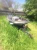 1984 Skeeter Ss-1 Fisherman Bass Boat W/115 Hp On Steel Trailer
