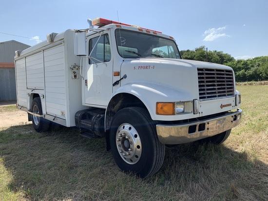 1991 International FD Cargo Truck