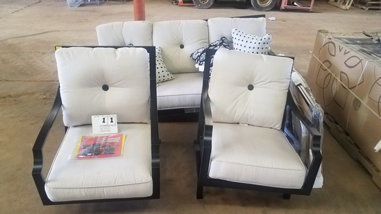 Member's Mark 4 Piece Barcelona Collection Deep Seating Set