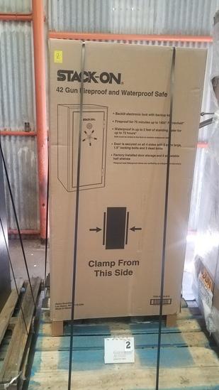 Stack-on 42 Gun Fireproof/waterproof Safe