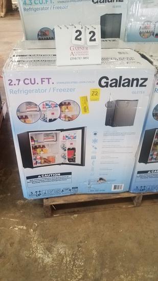 Galanz 2.7 Cu Ft Refrigerator