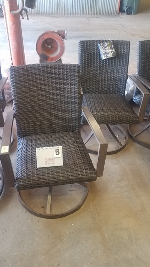 Member's Mark Fremont Collection Swivel Rocking Chairs Set Of 2