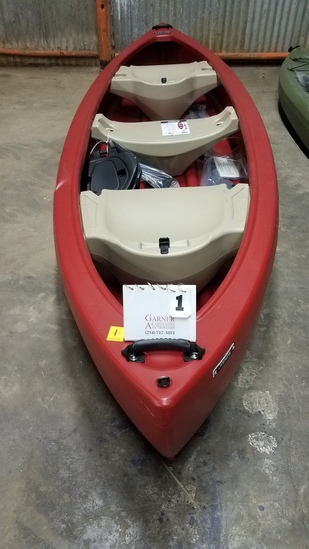 "Lifetime Kodiak Canoe 13'l X 39""w"