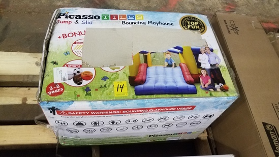 Picasso Tiles Bounce Playhouse
