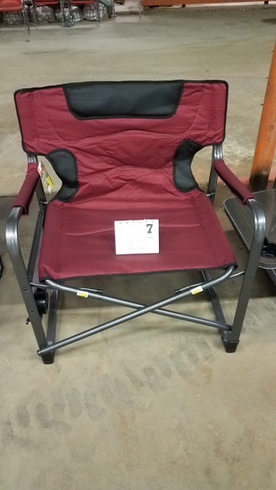 Ozark Trail Xxl Director Chair- W/attached Side Table