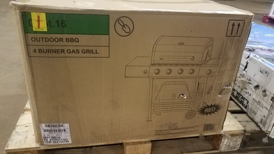 Outdoor 4 Burner Gas Grill