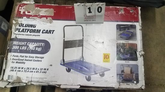 Hyper-tough Folding Platform Cart