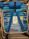 Beachmall Deluxe Steel Backpack Chair