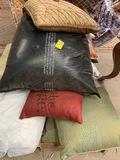 Large Lot Of Decorative Pillows