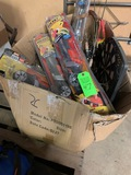 Lot Misc. Fishing Gear & Dartboard