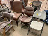 6 Misc. Chairs