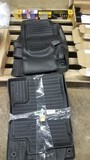 2 Sets Of Floor Mats & Car Retractable Sun Block