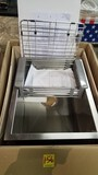 Logmey Kitchen Stainless Steel Sink 15x20x9