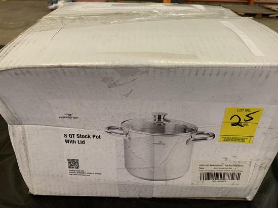 Homichef 8 Qt. Stock Pot With Lid