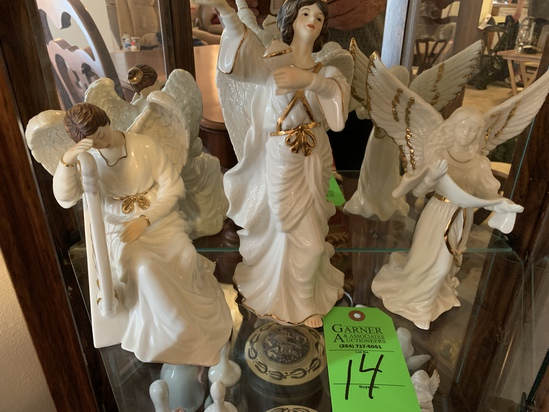 3 Angel Figurines