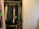 Contents Of Closet- Men's Ware