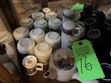 Contents Of Shelf- Includes Tea Set