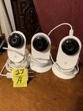 Yi 1080p Smart Home Cameras -3 Cameras