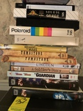 Lot Of Dvds And Vhs Tapes