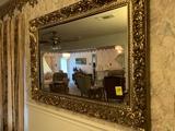 Very Ornate Framed Mirror