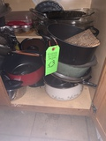 Contents Of Cabinet- Pots And Pans