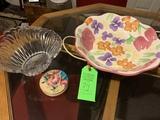 2 Bowls And Coasters