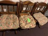 3 Wood Chairs