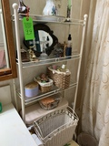 Bathroom Shelf And Contents