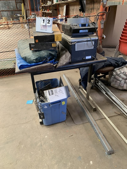 LARGE LOT USED OFFICE EQUIPMENT